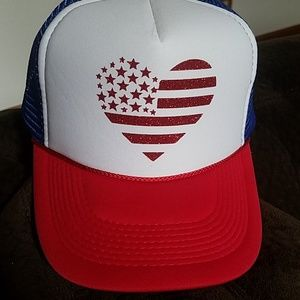 Patriotic trucker hat